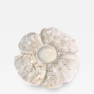 Fern Leaf Artichoke Plates Set of 12