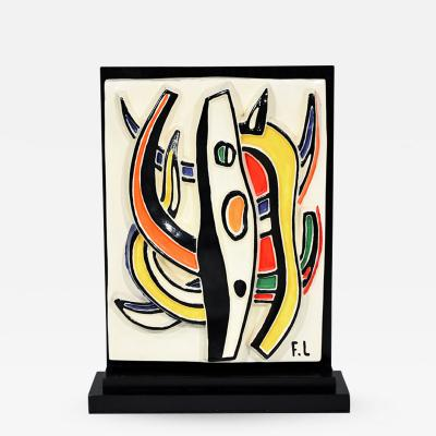 Fernand Leger Abstract Composition