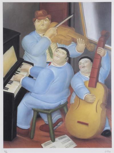 Fernando Botero Los Musicos