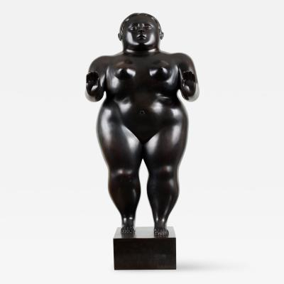 Fernando Botero Sleepwalking Woman