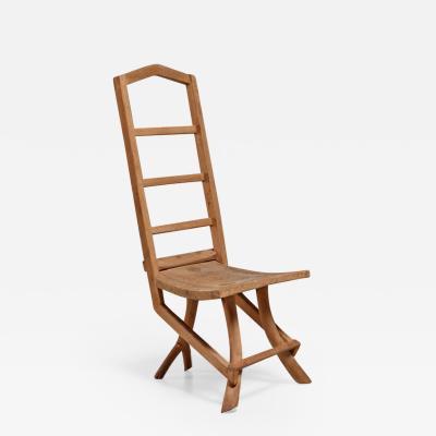 Fernando da Ilha do Ferro Fernando da Ilha do Ferro craft chair with high back Brazil