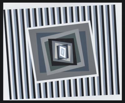 Ferruccio Gard Optical Painting Back to the Future by Ferruccio Gard