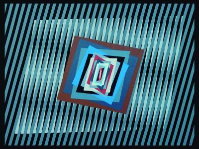 Ferruccio Gard Optical Painting Inside the Energy of Color 18 3 by Ferruccio Gard