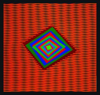 Ferruccio Gard Optical Painting Movement as a Message by Ferruccio Gard
