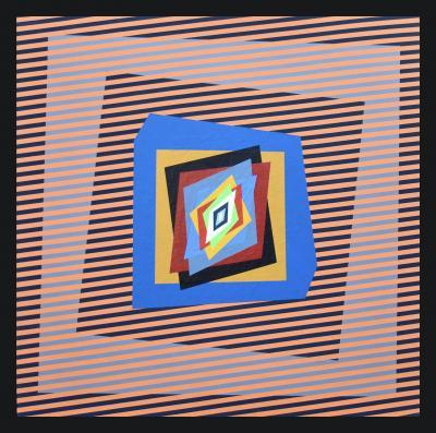 Ferruccio Gard Optical Painting Movimenti Cinetici by Ferruccio Gard