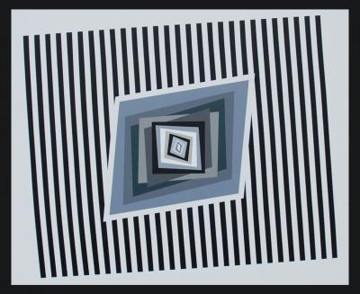 Ferruccio Gard Optical painting Back to the Future V 1 by Ferruccio Gard