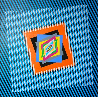 Ferruccio Gard The Emotion on the Color in Op art