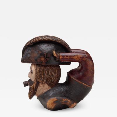 Figural pipe bowl