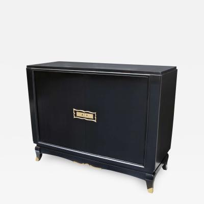 Fine Ebonized Two Door Cabinet