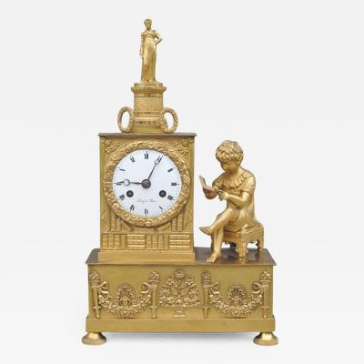 Fine Empire Mantel Clock