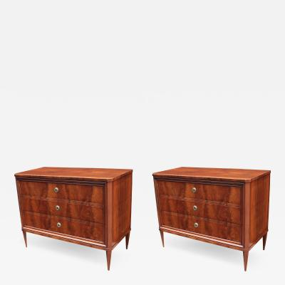Fine Pair of Neoclassical Commodes