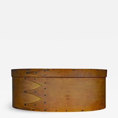 Fine Shaker Bentwood Oval Storage Box