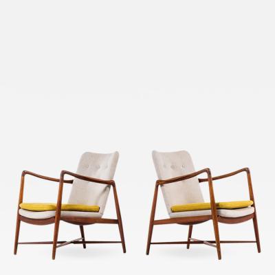 Finn Juhl Finn Juhl BO59 easy chairs