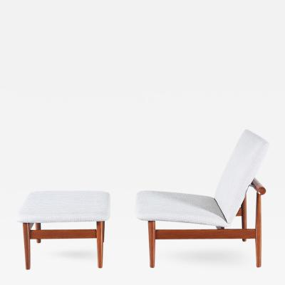 Finn Juhl Finn Juhl Japan Model 137 Lounge Chair for France Son