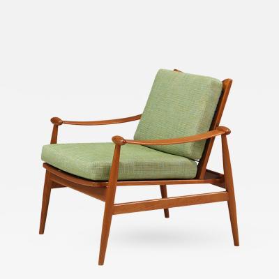 Finn Juhl Finn Juhl Model 133 Teak Lounge Chair for France Son