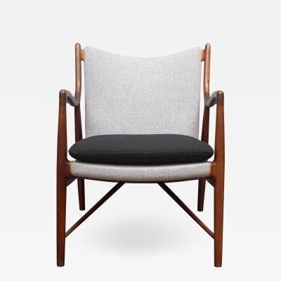 Finn Juhl Finn Juhl NV 45 Chair by Niels Vodder