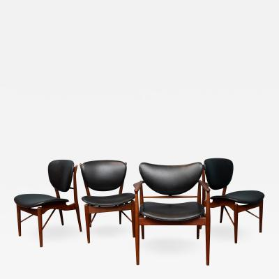 Finn Juhl Finn Juhl NV 51 Dining Chairs by Baker