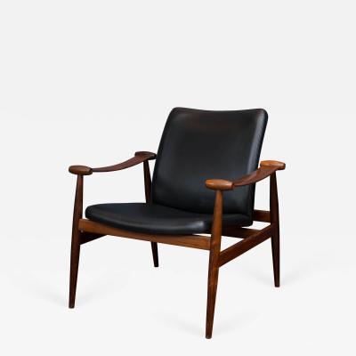Finn Juhl Finn Juhl Rosewood Spade Lounge Chair FD133