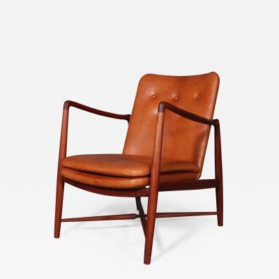 Finn Juhl Finn Juhl fireplace chair of teak model BO 59