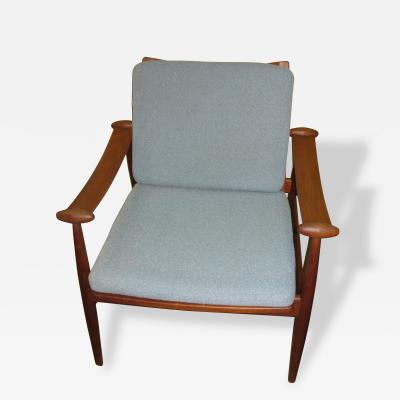 Finn Juhl Finn Juhl for France Sons Spade Chair 1950 60