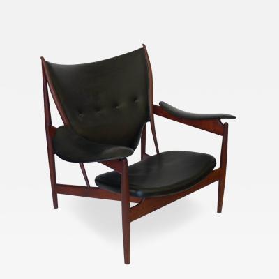 Finn Juhl Rosewood Chieftan Chair 1949 Branded Niles Vodder Finn Juhl