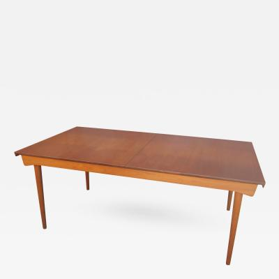 Finn Juhl Teak Dining Table with Extensions by Finn Juhl for France Son