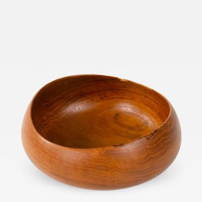 Finn Juhl Turned Wood Bowl