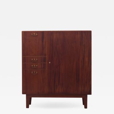 Finn Juhl Unique Cabinet in Cuban Mahogany