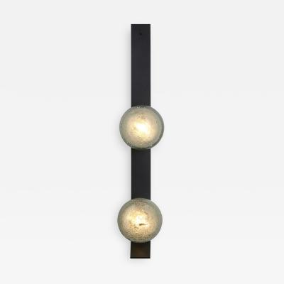 Fizi Double Ball Kick Wall Sconce