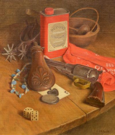 Flavia Bensing Scott Still Life with Gun