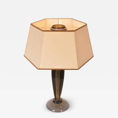 Flavio Poli 1960s Table Lamp by Flavio Poli for Seguso Italy