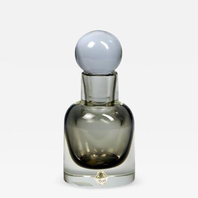 Flavio Poli Seguso Sommerso Bottle With Stopper