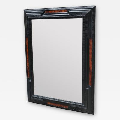 Flemmish Style Ebonized Wall Mirror
