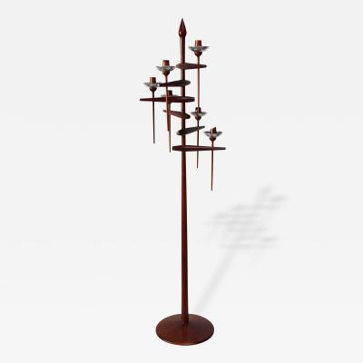 Floor Candelabrum Attributed to James Martin