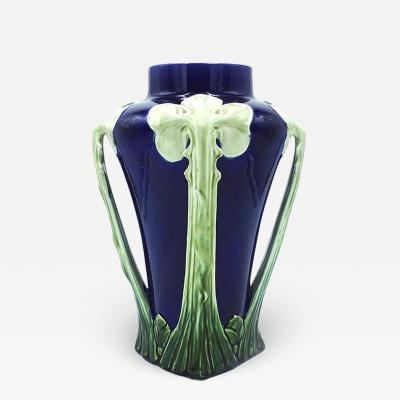 Floral ceramic Liberty vase 1900s