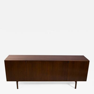 Florence Knoll 1950s Florence Knoll Cabinet in Walnut with Maple Interior Model No 541