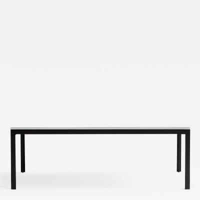 Florence Knoll FLORENCE KNOLL WHITE LAMINATE COFFEE TABLE