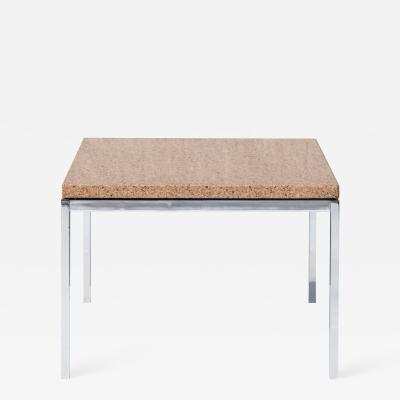 Florence Knoll Florence Knoll Coffee Side Table in Brown Marble