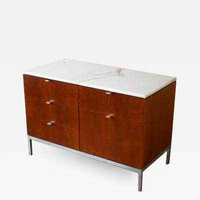 Florence Knoll Florence Knoll Credenza in Teak and Marble