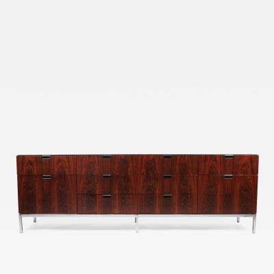 Florence Knoll Florence Knoll Designed Rosewood Credenza 1960s