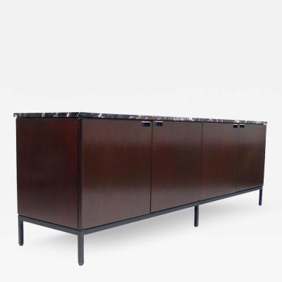 Florence Knoll Florence Knoll Italian Marble Credenza