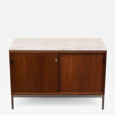 Florence Knoll Florence Knoll Marble Top Rosewood Credenza