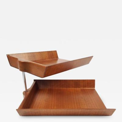 Florence Knoll Florence Knoll Molded Plywood Architectural Letter Tray