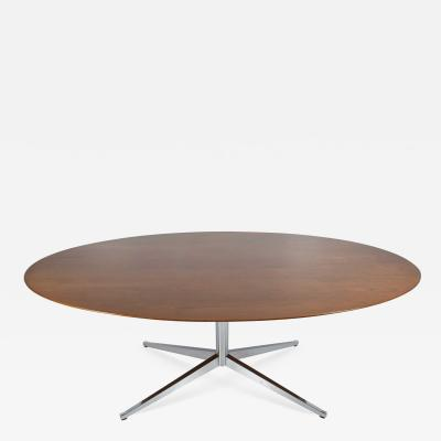 Florence Knoll Florence Knoll Teak Oval Table