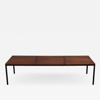 Florence Knoll Florence Knoll Walnut Coffee Table Bench