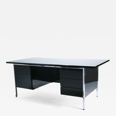 Florence Knoll Florence Knoll lacquer and chrome desk 1950 s
