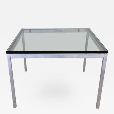 Florence Knoll Glass Top Florence Knoll Side Table