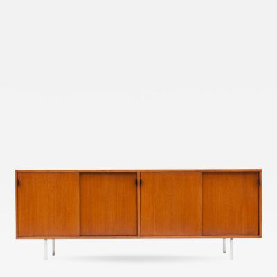 Florence Knoll Modern Credenza in Teak by Florence Knoll Manufactured by De Coene 1950s
