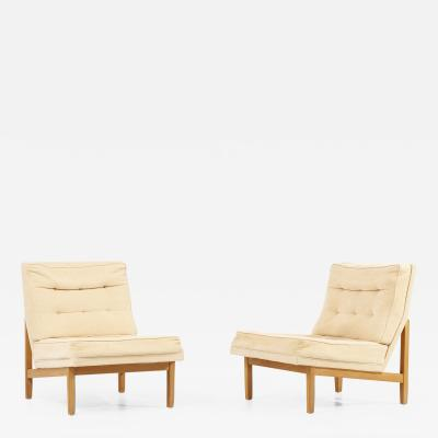 Florence Knoll Pair of 51W Florence Knoll Lounge Chairs by Knoll Associates USA 1950s