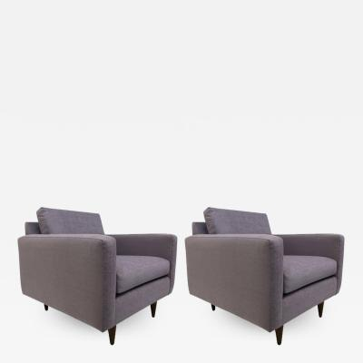 Florence Knoll Pair of Early Florence Knoll Lounge Chairs
